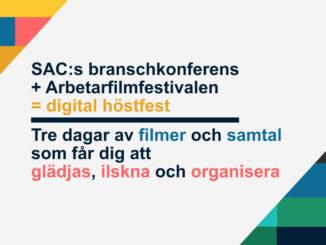 Arbetarfilmfesival digitalt 6-8 november www.nlff.se