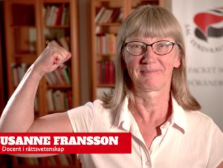 Susanne Fransson, docent i rättsvetenskap