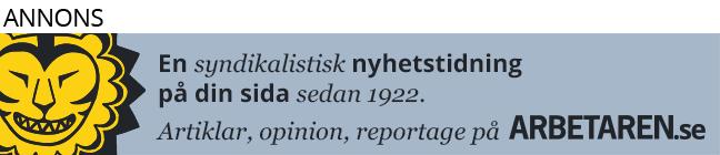 Arbetaren Syndikalistisk nyhetstidning
