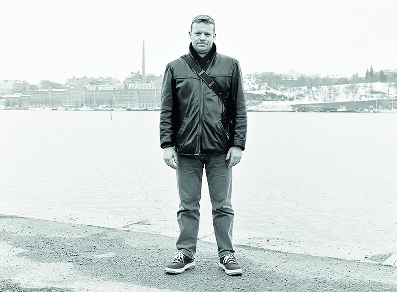 Bilden visar Björn Söderberg.