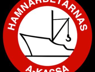 Logotyp för Hamnarbetarnas a-kassa